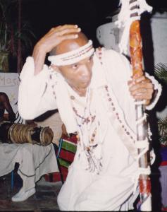 Obatala : orisha créateur de la terre et de l'homme © artesdrums