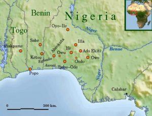 Royaume des yorubas en Afrique © wikipedia